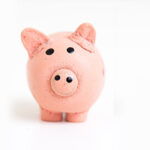 Kids money piggy bank