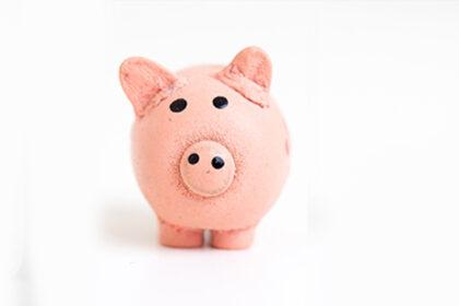Kids money piggy bank