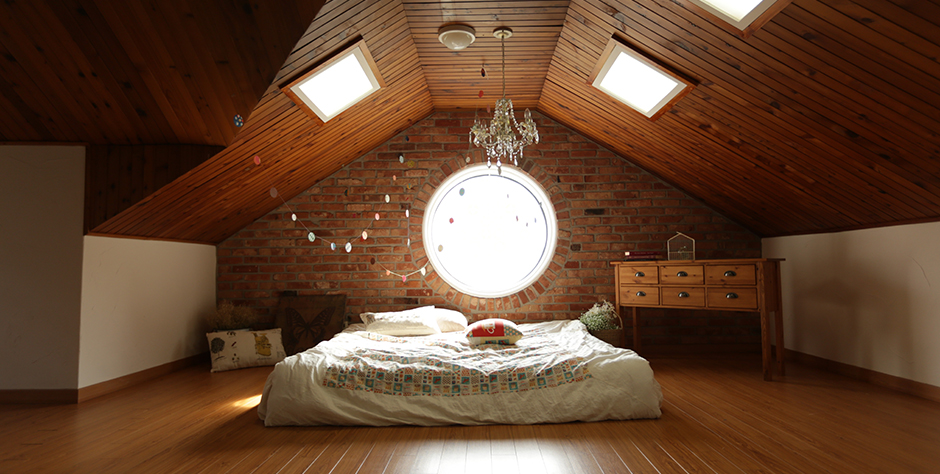 Open bedroom loft conversion